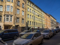 Петроградский район, улица Кропоткина, дом 17. многоквартирный дом