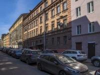 Петроградский район, улица Кропоткина, дом 7. многоквартирный дом