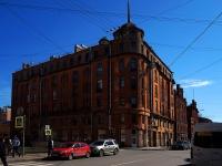 Петроградский район, улица Мичуринская, дом 21. многоквартирный дом