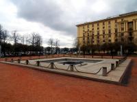 Петроградский район, улица Мичуринская. фонтан