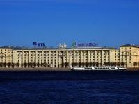 Петроградский район, улица Мичуринская, дом 1. многоквартирный дом