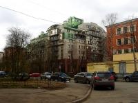 Петроградский район, улица Мичуринская, дом 4. многоквартирный дом