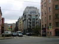 Петроградский район, улица Мичуринская, дом 6. многоквартирный дом