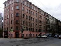 Петроградский район, улица Мичуринская, дом 8. многоквартирный дом