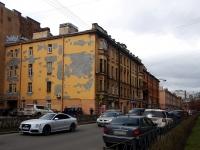 Петроградский район, улица Мичуринская, дом 12. многоквартирный дом