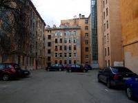 Петроградский район, улица Мичуринская, дом 13. многоквартирный дом