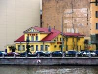 Петроградский район, улица Петроградская набережная, дом 24. многофункциональное здание