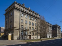 Петроградский район, Левашовский проспект, дом 3. многоквартирный дом