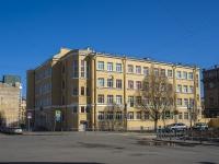 Петроградский район, Левашовский проспект, дом 5. школа Средняя общеобразовательная школа №55