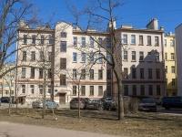 Петроградский район, Левашовский проспект, дом 6. многоквартирный дом