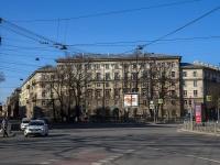 Петроградский район, Левашовский проспект, дом 2. многоквартирный дом