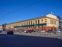 Петроградский район, Левашовский проспект, дом 13А. офисное здание
