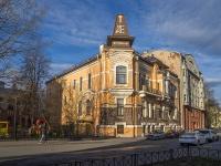 Петроградский район, улица Литераторов, дом 17. многоквартирный дом