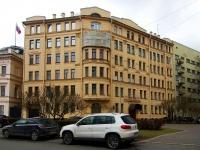 Петроградский район, улица Петровская набережная, дом 2/2. многоквартирный дом