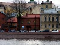 Петроградский район, улица Пеньковая, дом 8. офисное здание