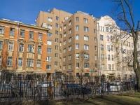 Петроградский район, улица Петропавловская, дом 4. многоквартирный дом