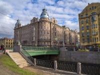 Петроградский район, улица Петропавловская, дом 8. многоквартирный дом