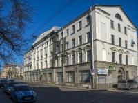 Петроградский район, Чкаловский проспект, дом 27. общежитие