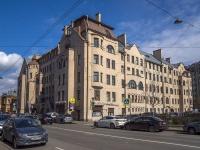 Петроградский район, Чкаловский проспект, дом 31. многоквартирный дом