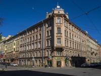 Петроградский район, Чкаловский проспект, дом 14. многоквартирный дом