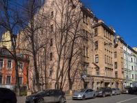 Петроградский район, Чкаловский проспект, дом 26. многоквартирный дом