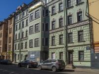 Петроградский район, Чкаловский проспект, дом 28. здание на реконструкции