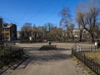 Петроградский район, Чкаловский проспект. сквер