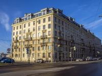 Петроградский район, Добролюбова проспект, дом 2. многоквартирный дом