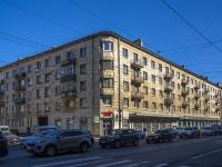 Петроградский район, Добролюбова проспект, дом 5. многоквартирный дом