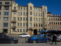 Петроградский район, Добролюбова проспект, дом 9. многоквартирный дом