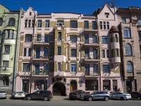 Петроградский район, Добролюбова проспект, дом 21. многоквартирный дом
