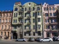 Петроградский район, Добролюбова проспект, дом 21А. многоквартирный дом