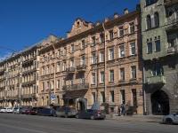 Петроградский район, Добролюбова проспект, дом 23. многоквартирный дом