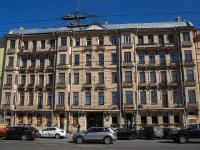 Петроградский район, Добролюбова проспект, дом 25. многоквартирный дом
