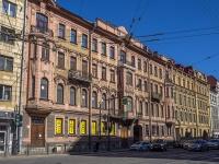 Петроградский район, Добролюбова проспект, дом 3. многоквартирный дом