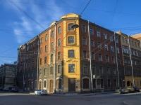 Петроградский район, улица Яблочкова, дом 2/10. многоквартирный дом