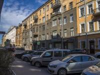 Петроградский район, улица Яблочкова, дом 3. многоквартирный дом
