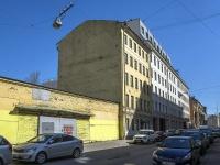 Петроградский район, улица Яблочкова, дом 9. офисное здание