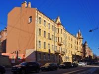 Петроградский район, улица Барочная, дом 2. многоквартирный дом