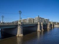 """Петроградский район, улица Вязовая. мост """"Большой Крестовский"""""""