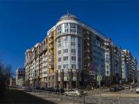 Петроградский район, улица Глухая Зеленина, дом 6. многоквартирный дом