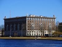 Петроградский район, улица Депутатская, дом 26. многоквартирный дом