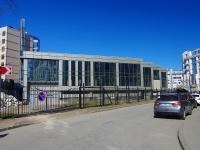 Петроградский район, улица Кемская. строящееся здание