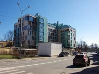 Петроградский район, Константиновский проспект, дом 18 ЛИТ А. многоквартирный дом