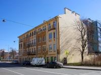 Петроградский район, Константиновский проспект, дом 20А. многоквартирный дом