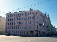 Петроградский район, Константиновский проспект, дом 22А. многоквартирный дом