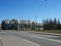 Петроградский район, Константиновский проспект, дом 26. многоквартирный дом