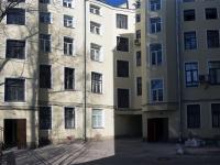 Петроградский район, улица Лизы Чайкиной, дом 17. многоквартирный дом