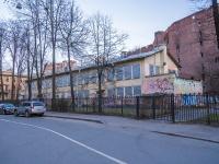 Петроградский район, улица Лизы Чайкиной, дом 5. неиспользуемое здание
