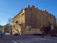 Петроградский район, улица Лизы Чайкиной, дом 18. многоквартирный дом